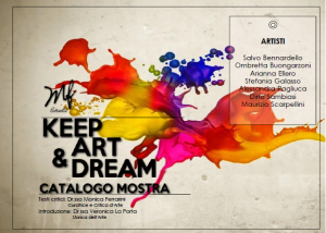 "CATALOGO MOSTRA ""KEEP ART & DREAM"""