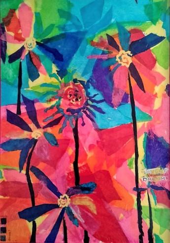 Sweet Dreams cm. 100x70 tec. mista su tela 2010