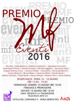 PREMIO MF EVENTI 2016