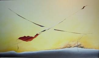 Senza titolo numero zero - olio su tela - 120x70 cm - 2014