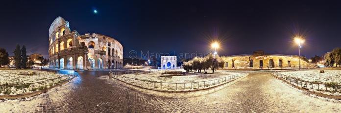 Colosseo Winter