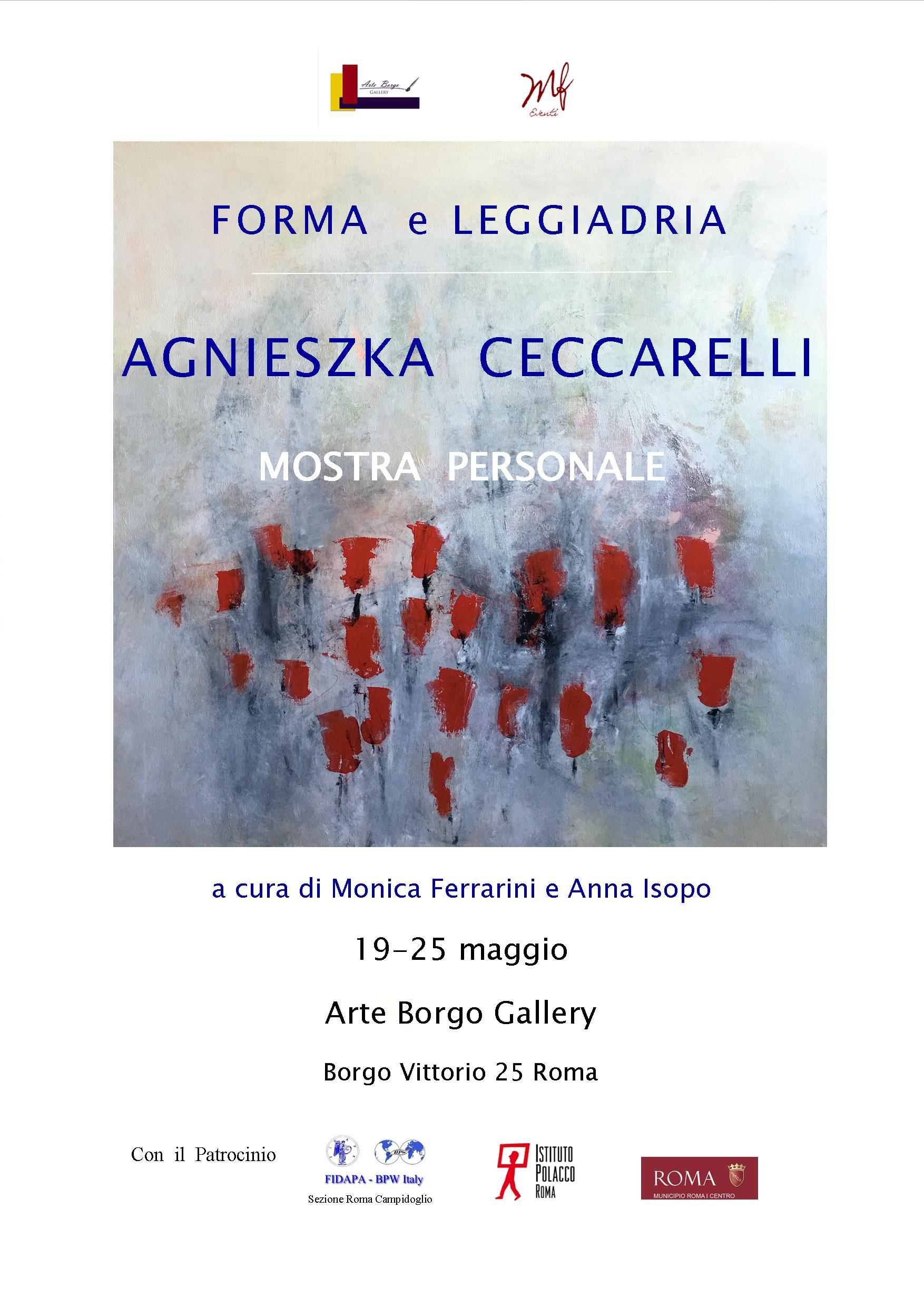 "Agnieszka Ceccarelli: ""Forma e Leggiadria"""